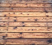 Wooden pathway on a sandy beach in summer stock photography