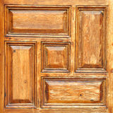 Wooden pattern 0022. A wooden pattern usually carved on  doors of main entrances Royalty Free Stock Photo