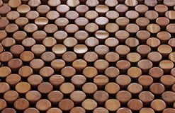 Wooden pattern dots Royalty Free Stock Photos