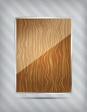 Wooden pattern icon Royalty Free Stock Images