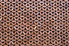 Wooden Patterned Mat - Abstract Background Stock Photo