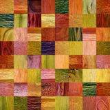 Wooden patterns - different colors - seamless background Stock Photo