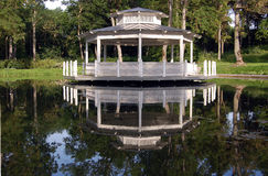 Wooden pavilion Royalty Free Stock Photography