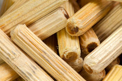 Wooden pegs Stock Photo
