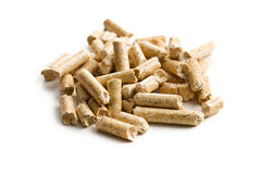 Wooden pellet .ecological heating Stock Photography