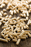 Wooden pellet .ecological heating Royalty Free Stock Images