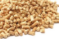 Wooden pellets Stock Photos