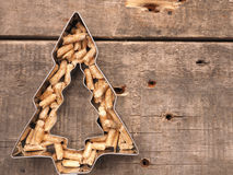 Wooden pellets, energy concept. Wooden pellets, alternative energy concept image stock image