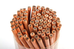 Wooden pencil Stock Images