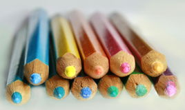 Wooden pencil background Royalty Free Stock Image