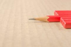 Wooden pencil Stock Photos