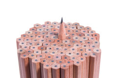 Wooden pencil Royalty Free Stock Images