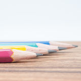 Wooden pencil Royalty Free Stock Photography