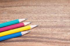 Wooden pencil Royalty Free Stock Photos