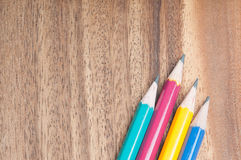 Wooden pencil Stock Image