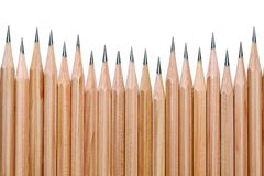 Wooden pencils Royalty Free Stock Images
