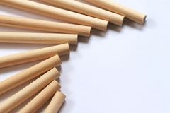 Wooden pencils Royalty Free Stock Photos