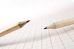 Wooden pencils Stock Photography