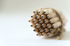 Wooden pencils Royalty Free Stock Image