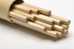 Wooden Pencils Stock Photo