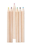 Wooden pencils Royalty Free Stock Photography