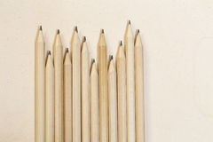 Wooden pencils Stock Photos