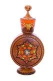 Wooden perfume bottle Royalty Free Stock Image