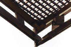 Wooden pergola Royalty Free Stock Photos
