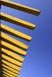 Wooden pergola Stock Images
