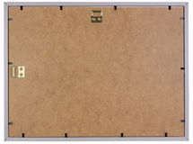 Wooden phoro frame back Stock Photo