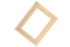 Wooden photo frame Stock Photography