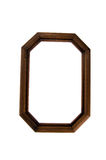 Wooden photo frame Royalty Free Stock Image