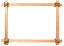 Wooden photo frame Royalty Free Stock Photos