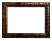Wooden photo frame Stock Photo