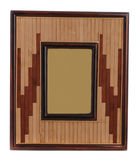 Wooden photo frame Royalty Free Stock Photo