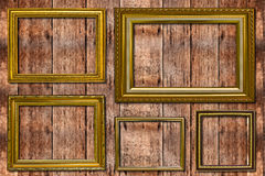 Wooden Photo Frame. Stock Images