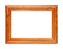Wooden photo frame Royalty Free Stock Photo