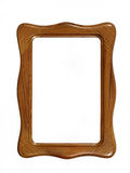 Wooden photoframe Royalty Free Stock Images