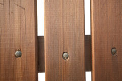 Wooden picket fence Royalty Free Stock Photo