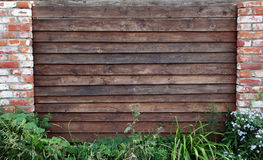 Wooden picket fence Royalty Free Stock Image