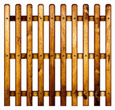 Wooden picket fence. Royalty Free Stock Photo