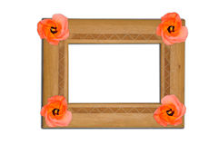 Wooden Picture Frame Stock Photos