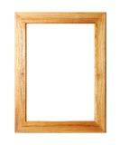 Wooden picture frame Royalty Free Stock Image