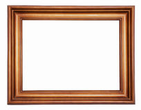 Wooden picture-frame Stock Image