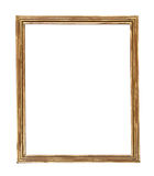 Wooden picture-frame isolated on white background Stock Photography