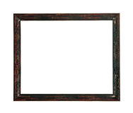 Wooden picture frame Royalty Free Stock Images