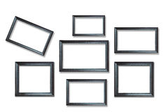 Wooden picture frames Stock Photos