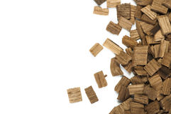 Wooden pieces Royalty Free Stock Photo