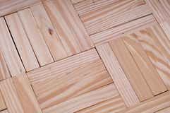 Wooden pieces make a texture Royalty Free Stock Photo