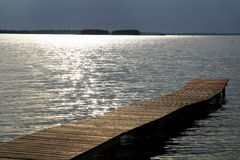 Wooden pier Stock Photography
